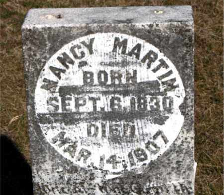 MARTIN, NANCY - Carroll County, Arkansas | NANCY MARTIN - Arkansas Gravestone Photos
