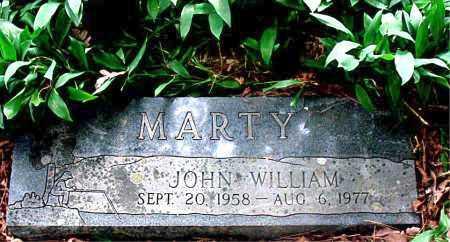 MARTY, JOHN WILLIAM - Carroll County, Arkansas | JOHN WILLIAM MARTY - Arkansas Gravestone Photos