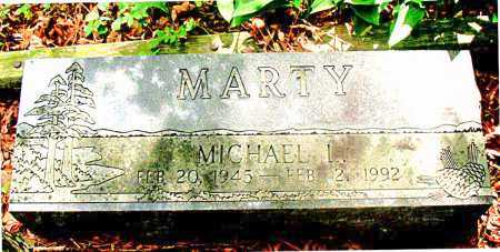 MARTY, MICHAEL L. - Carroll County, Arkansas | MICHAEL L. MARTY - Arkansas Gravestone Photos