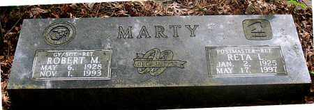 MARTY, RETA L. - Carroll County, Arkansas | RETA L. MARTY - Arkansas Gravestone Photos
