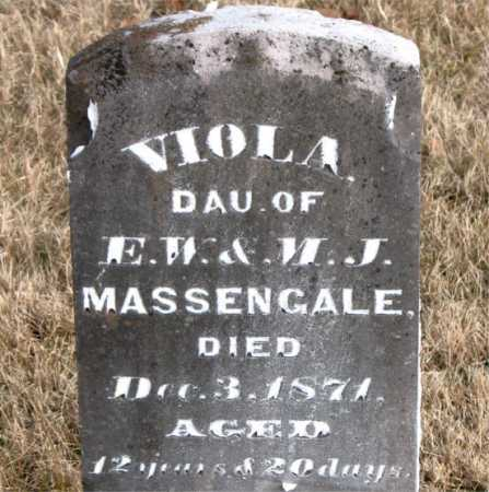 MASSENGALE, VOLA - Carroll County, Arkansas | VOLA MASSENGALE - Arkansas Gravestone Photos