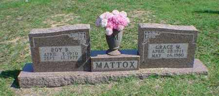 MATTOX, ROY B - Carroll County, Arkansas | ROY B MATTOX - Arkansas Gravestone Photos