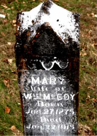 MCCOY, MARY - Carroll County, Arkansas | MARY MCCOY - Arkansas Gravestone Photos