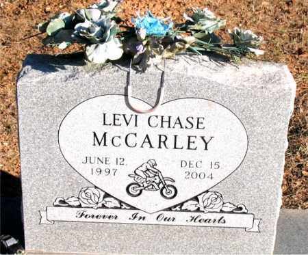 MCCARLEY, LEVI  CHASE - Carroll County, Arkansas | LEVI  CHASE MCCARLEY - Arkansas Gravestone Photos