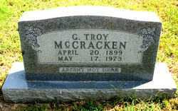 MCCRACKEN, G.  TROY - Carroll County, Arkansas | G.  TROY MCCRACKEN - Arkansas Gravestone Photos