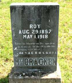 MCCRACKEN (VETERAN), ROY - Carroll County, Arkansas | ROY MCCRACKEN (VETERAN) - Arkansas Gravestone Photos