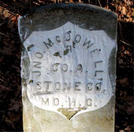 MCDOWELL  (VETERAN UNION), JNO - Carroll County, Arkansas | JNO MCDOWELL  (VETERAN UNION) - Arkansas Gravestone Photos