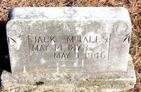 MCFALLS, JACK - Carroll County, Arkansas | JACK MCFALLS - Arkansas Gravestone Photos