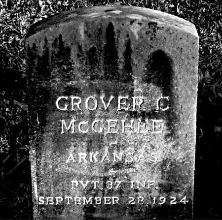 MCGEHEE (VETERAN), GROVER C. - Carroll County, Arkansas | GROVER C. MCGEHEE (VETERAN) - Arkansas Gravestone Photos