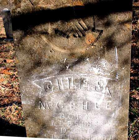 MCGEHEE, GILES S. - Carroll County, Arkansas | GILES S. MCGEHEE - Arkansas Gravestone Photos
