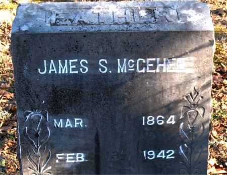 MCGEHEE, JAMES S. - Carroll County, Arkansas   JAMES S. MCGEHEE - Arkansas Gravestone Photos