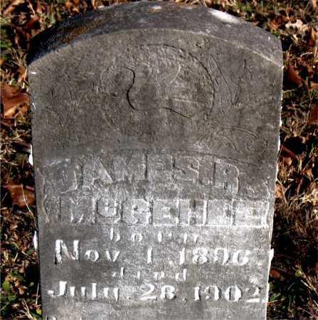MCGEHEE, JAMES R. - Carroll County, Arkansas | JAMES R. MCGEHEE - Arkansas Gravestone Photos