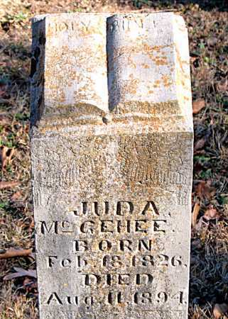MCGEHEE, JUDA - Carroll County, Arkansas | JUDA MCGEHEE - Arkansas Gravestone Photos