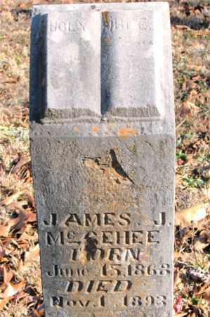 MCGEHEE, JAMES J. - Carroll County, Arkansas | JAMES J. MCGEHEE - Arkansas Gravestone Photos