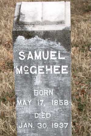 MCGEHEE, SAMUEL - Carroll County, Arkansas | SAMUEL MCGEHEE - Arkansas Gravestone Photos
