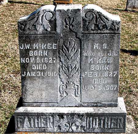 MCKEE, J W - Carroll County, Arkansas | J W MCKEE - Arkansas Gravestone Photos