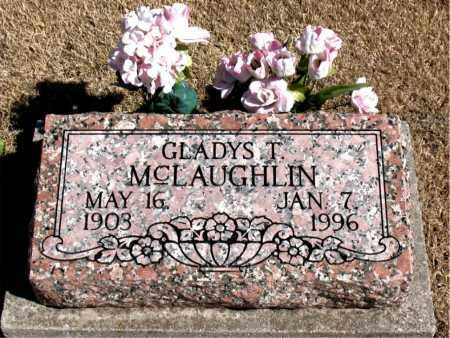 MCLAUGHLIN, GLADYS T. - Carroll County, Arkansas | GLADYS T. MCLAUGHLIN - Arkansas Gravestone Photos