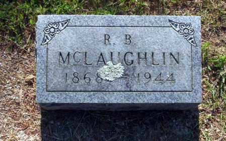 MCLAUGHLIN, R.B. - Carroll County, Arkansas | R.B. MCLAUGHLIN - Arkansas Gravestone Photos