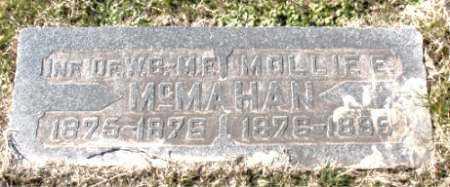 MCMAHAN, MOLLIE  E. - Carroll County, Arkansas | MOLLIE  E. MCMAHAN - Arkansas Gravestone Photos