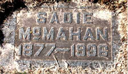 MCMAHAN, SADIE - Carroll County, Arkansas | SADIE MCMAHAN - Arkansas Gravestone Photos