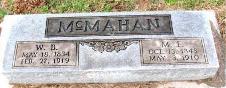 MCMAHAN, M.  E. - Carroll County, Arkansas | M.  E. MCMAHAN - Arkansas Gravestone Photos