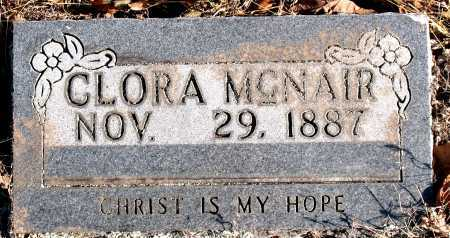 MCNAIR, CLORA - Carroll County, Arkansas | CLORA MCNAIR - Arkansas Gravestone Photos