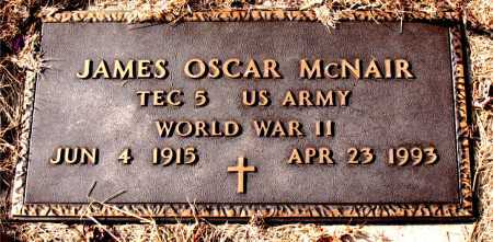 MCNAIR (VETERAN WWII), JAMES OSCAR - Carroll County, Arkansas | JAMES OSCAR MCNAIR (VETERAN WWII) - Arkansas Gravestone Photos