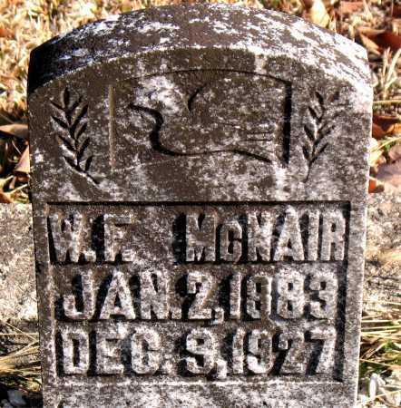 MCNAIR, W. F. - Carroll County, Arkansas | W. F. MCNAIR - Arkansas Gravestone Photos