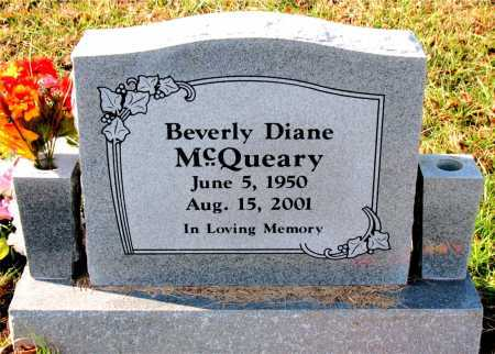 MCQUEARY, BEVERLY  DIANE - Carroll County, Arkansas | BEVERLY  DIANE MCQUEARY - Arkansas Gravestone Photos