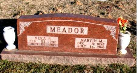 MEADOR, VERA E. - Carroll County, Arkansas | VERA E. MEADOR - Arkansas Gravestone Photos