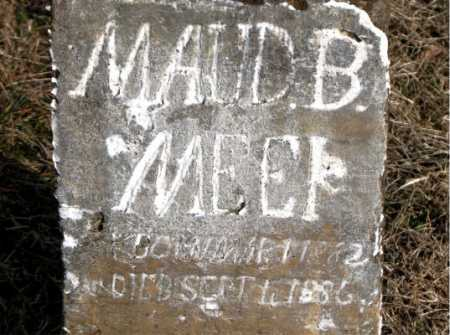 MEEK, MAUD B - Carroll County, Arkansas | MAUD B MEEK - Arkansas Gravestone Photos