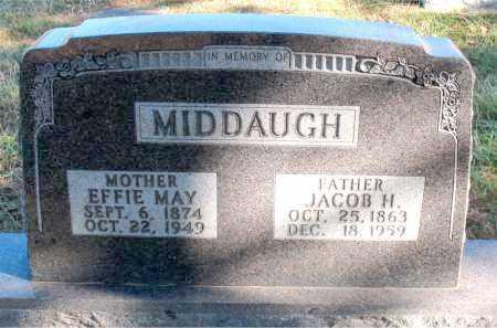 MIDDAUGH, JACOB H. - Carroll County, Arkansas | JACOB H. MIDDAUGH - Arkansas Gravestone Photos