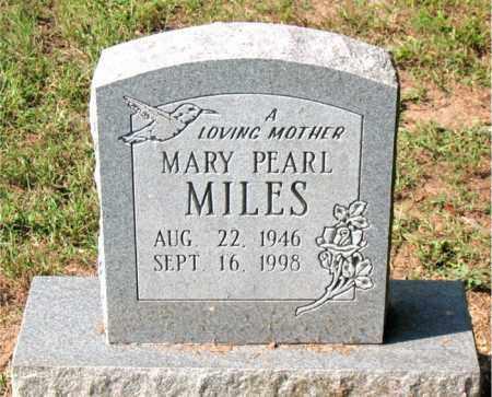 MILES, MARY PEARL - Carroll County, Arkansas | MARY PEARL MILES - Arkansas Gravestone Photos