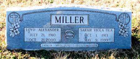 MILLER, LOYD ALEXANDER - Carroll County, Arkansas | LOYD ALEXANDER MILLER - Arkansas Gravestone Photos