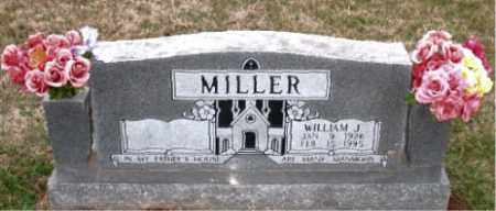 MILLER, WILLIAM J. - Carroll County, Arkansas | WILLIAM J. MILLER - Arkansas Gravestone Photos
