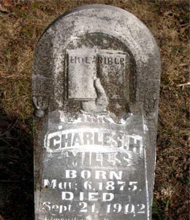 MILLS, CHARLES H. - Carroll County, Arkansas | CHARLES H. MILLS - Arkansas Gravestone Photos