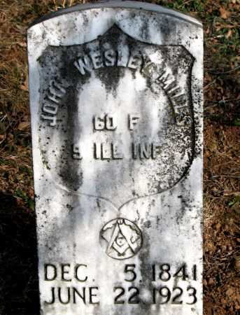 MILLS  (VETERAN UNION), JOHN WESLEY - Carroll County, Arkansas | JOHN WESLEY MILLS  (VETERAN UNION) - Arkansas Gravestone Photos