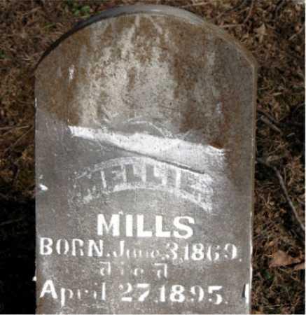MILLS, MELLIE - Carroll County, Arkansas | MELLIE MILLS - Arkansas Gravestone Photos