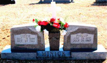 MINICK, LIZZIE - Carroll County, Arkansas | LIZZIE MINICK - Arkansas Gravestone Photos