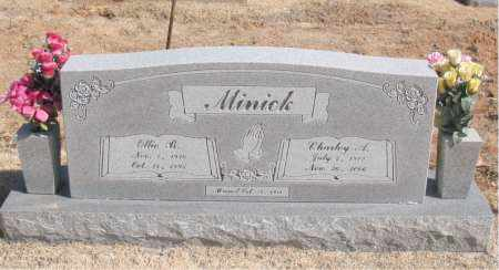 MINICK, OLLIE  B. - Carroll County, Arkansas | OLLIE  B. MINICK - Arkansas Gravestone Photos