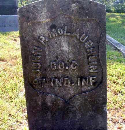 MCLAUGHLIN (VETERAN UNION), JOHN P - Carroll County, Arkansas | JOHN P MCLAUGHLIN (VETERAN UNION) - Arkansas Gravestone Photos