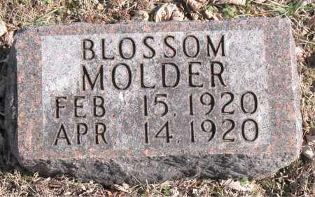 MOLDER, BLOSSOM - Carroll County, Arkansas | BLOSSOM MOLDER - Arkansas Gravestone Photos
