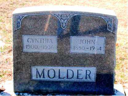 MOLDER, JOHN - Carroll County, Arkansas | JOHN MOLDER - Arkansas Gravestone Photos