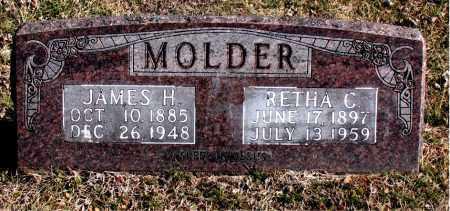 MOLDER, RETHA C - Carroll County, Arkansas | RETHA C MOLDER - Arkansas Gravestone Photos