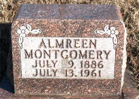 MONTGOMERY, ALMREEN - Carroll County, Arkansas | ALMREEN MONTGOMERY - Arkansas Gravestone Photos