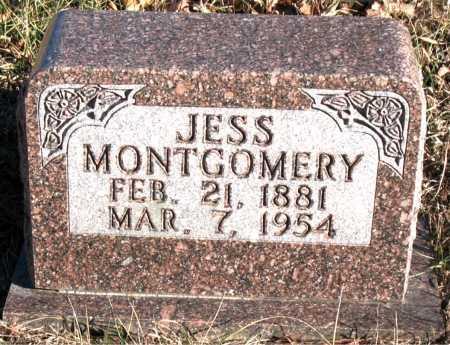 MONTGOMERY, JESS - Carroll County, Arkansas | JESS MONTGOMERY - Arkansas Gravestone Photos