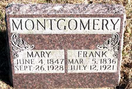 MONTGOMERY, FRANK - Carroll County, Arkansas | FRANK MONTGOMERY - Arkansas Gravestone Photos