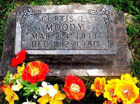 MOODY, CURTIS L - Carroll County, Arkansas | CURTIS L MOODY - Arkansas Gravestone Photos