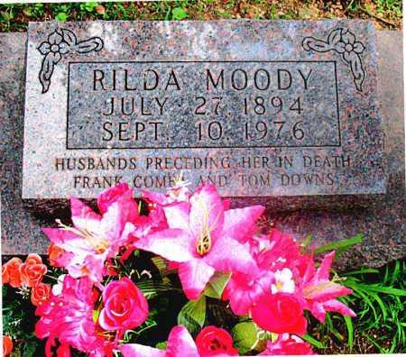 MOODY, RILDA - Carroll County, Arkansas | RILDA MOODY - Arkansas Gravestone Photos