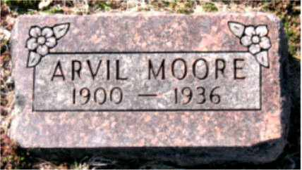 MOORE, ARVIL - Carroll County, Arkansas | ARVIL MOORE - Arkansas Gravestone Photos